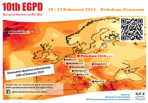 EGPD 2019 - Geothermal research