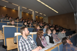 1st EGPD in Potsdam during lecture